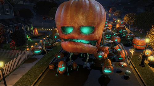 Mutant Pumpkins from Outer Space Movie Photo