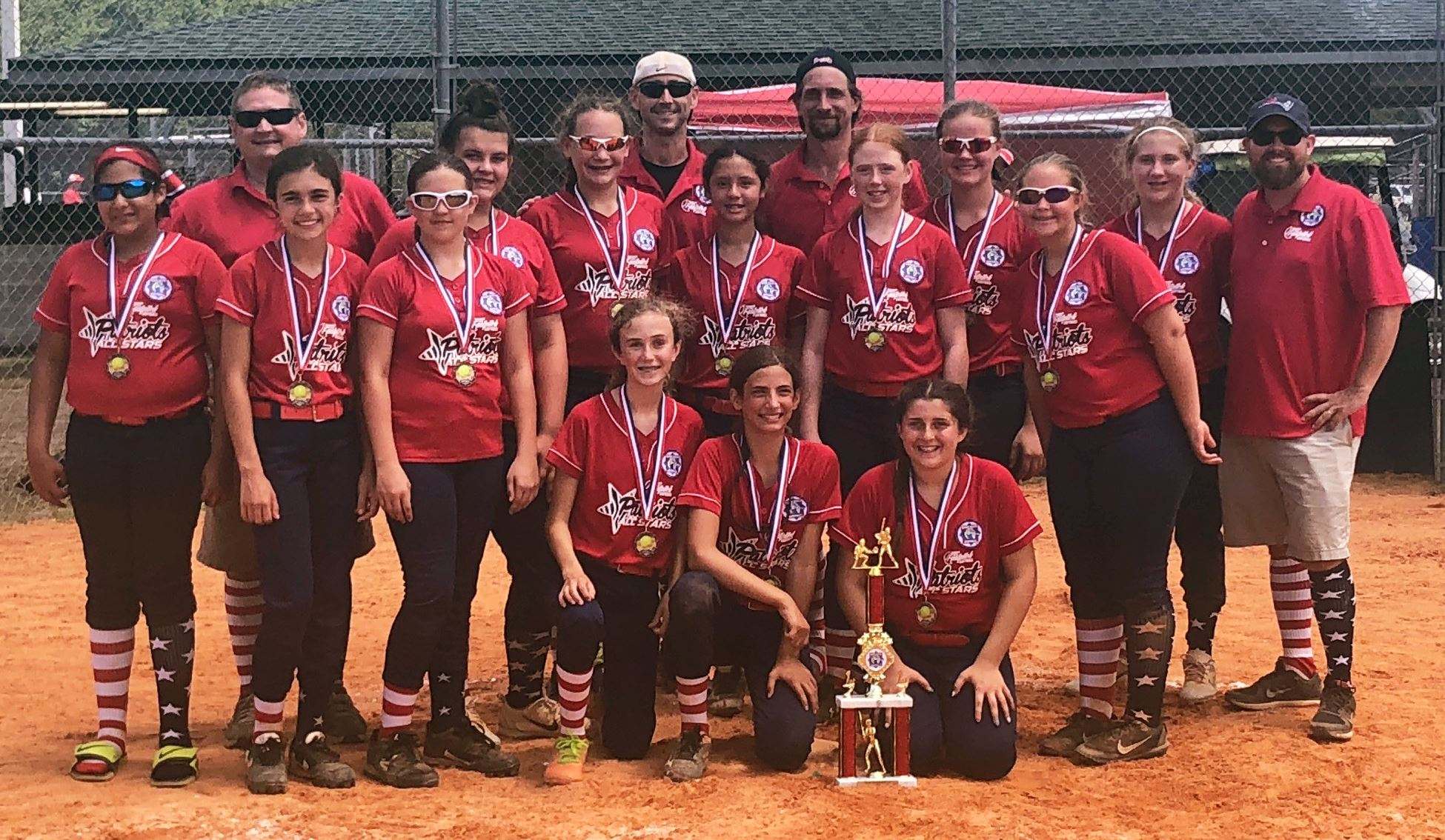 12U softball State 2nd place