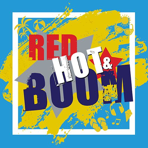 Red Hot and Boom Logo